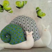 lelemescreas.com cargols maman et bébé escargot tilda cargol Lélé mes Créas
